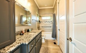 Lakehouse rental picture of a bathroom